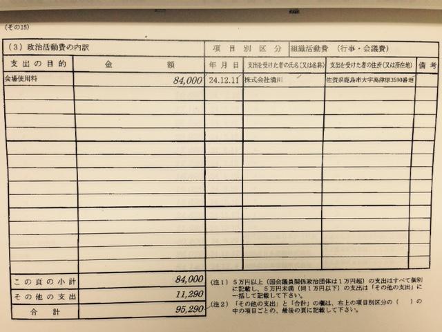 民主党衆議院議員大串博志の収支...